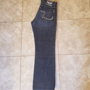 Rock and Republic button fly jeans